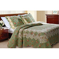 Bliss Sage Quilt Set
