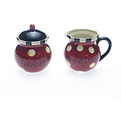 Certified International 'Family Table' Sugar and Creamer Set
