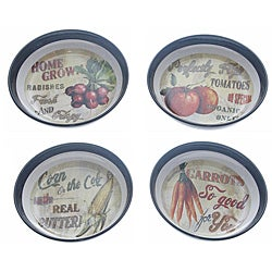 Certified International 'Farm Fresh' Soup/Pasta Bowls (Set of 4)