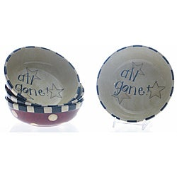 Certified International' Family Table' Soup/Pasta Bowls (Set of 4)