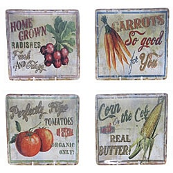 Certified International 'Farm Fresh' Square Salad Plate (Set of 4)