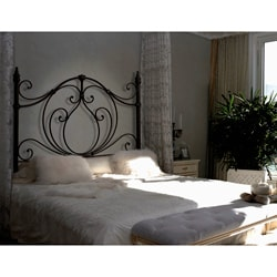 Antique Brass Queen/Full Size Headboard