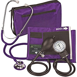 Veridian 02-12711 Aneroid Sphygmomanometer with Dual-head Stethoscope Adult Kit