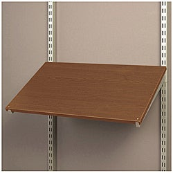 freedomRail Chocolate Pear Pre-Drilled Shoe Shelf