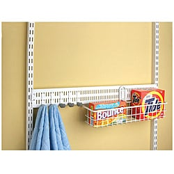 Organized Living freedomRail White 30-inch Spanner