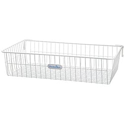 Organized Living freedomRail Big White Work Basket