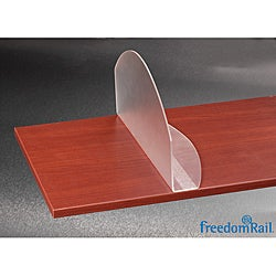 Organized Living freedomRail Frosted Acrylic Shelf Dividers (Set of 2)