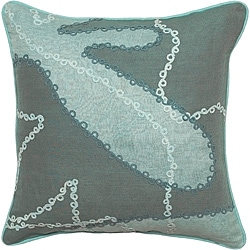 Ballarat Seafoam/ Jade Down Decorative Pillow