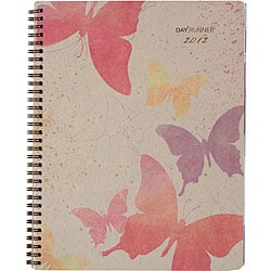 Day Runner Design Recycled Watercolors Weekly/Monthly Planner (8.5 x 11)