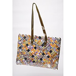 Hershey's Best Wrappers Recycled Handmade Candy Tote