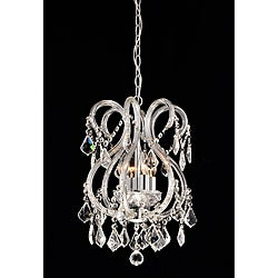 'Daisy' Crystal 4-light Chandelier