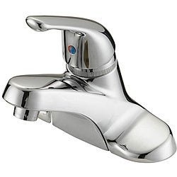 LessCare LB2C Chrome Finish Bathroom Faucet with Pop-up