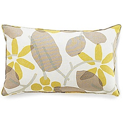 Jiti PIllows Bethe Leaves Light Brown 12x20-inch Decorative Down Pillow