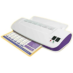 Purple Cows 'Hot and Cold' 9-inch Laminator