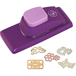 Purple Cow 'CraftGeek Pin It' Anywhere Stapler with 5 pins