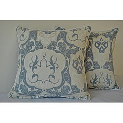 Sherry Kline 18-inch Emporium Ivory Decorative Pillows (Set of 2)
