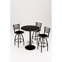 Cambridge Commercial 4-piece Pub Table Set