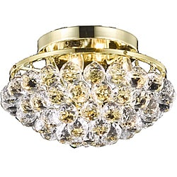 Gold 4-Light Chandelier