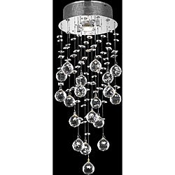 Chrome 1-Light Chandelier