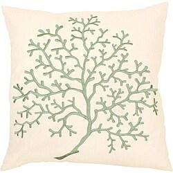 'Fortune' Down 18x18 Decorative Pillow