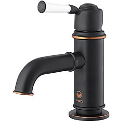 VIGO Boreas Single Handle Bathroom Faucet In Antique Rubbed Bronze