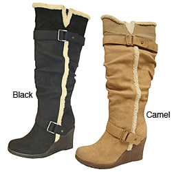 Bucco Women's 'Emina' Knee-high Boot