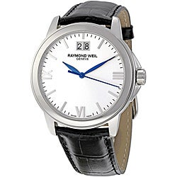 Raymond Weil Men's Traditional Silvertone Dial Watch
