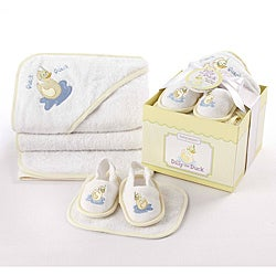 Baby Aspen Dilly the Duck 4-piece Bathtime Gift Set