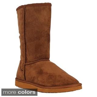 Tabeez Women's Oakley Tall Microsuede Boot