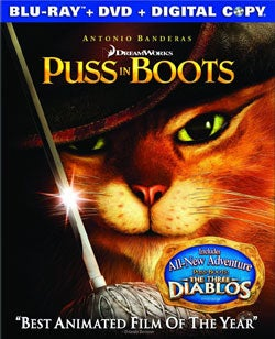 Puss in Boots (Blu-ray/DVD)