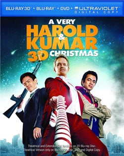 A Very Harold & Kumar 3D Christmas (Blu-ray Disc)