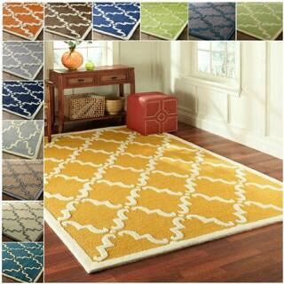 nuLOOM Handmade Luna Marrakesh Trellis Wool Rug (5' x 8')