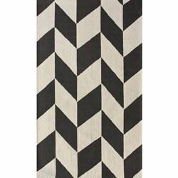 nuLOOM Handmade Chevron Wool Rug (5' x 8')