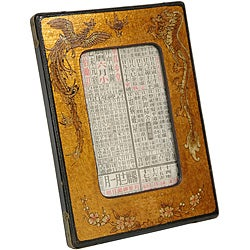 Gold Leaf Photo Frame (China)