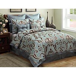 Largo 8-pieec Full-size Comforter Set