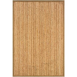 Natural Fiber Gold Rectangle Rug (5' x 7'9)