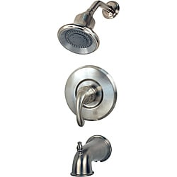 Price Pfister Brushed Nickel Langston One-Handle Tub/Shower Faucet