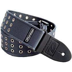 Dunlop D38 Grey Grommet Nylon Strap