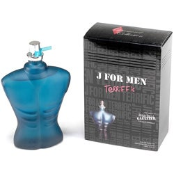 Diamond Collection 'J For Men Terriffic' Men's 3.4-ounce Eau De Toilette Spray