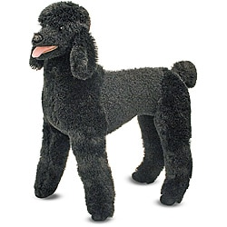 Melissa &amp; Doug Plush Standard Poodle Stuffed Animal
