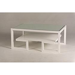 Jade Mirror-Top Coffee Table