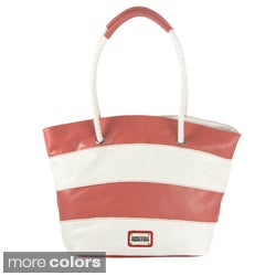 Kenneth Cole Reaction 'Celebrity' Stripe Tote Bag