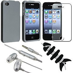 Smoke Case/ Screen Protector/ Headset/ Wrap for Apple iPhone 4S