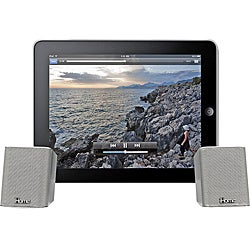 iHome iDM14 Rechargeable Portable Bluetooth Speakers With Speakerphone For iPad/iPod/iPhone