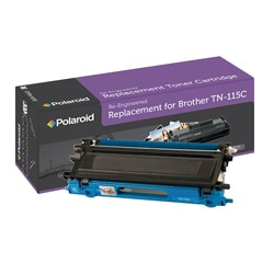 Brother TN115C Cyan Toner Cartridge by Polaroid (Remanufactured)