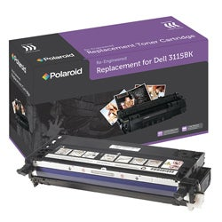 Dell 3110cn, 3115cn Black Toner Cartridge by Polaroid (Remanufactured)