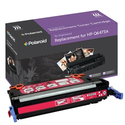 HP 501A Magenta Toner Cartridge by Polaroid (Remanufactured)