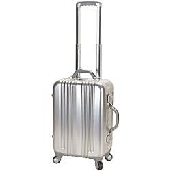Rockland 21-Inch Hi-Tech Aluminum Carry-On Spinner Upright With TSA Locks