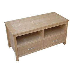 Oakridge 2-Drawer Hardwood TV Unit