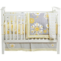 BananaFish MiGi Sweet Sunshine 3-piece Crib Bedding Set
